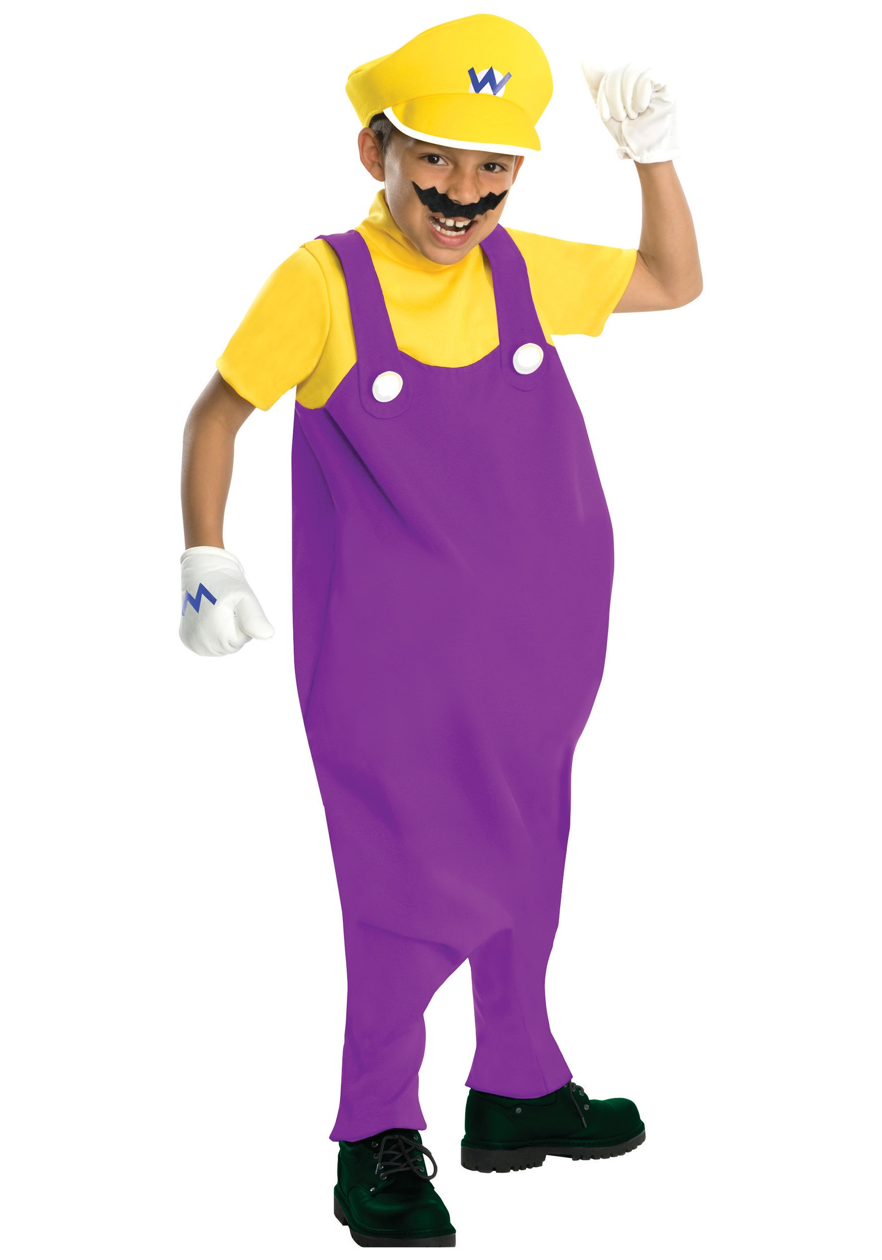 Best ideas about Wario Costume DIY . Save or Pin Deluxe Child Wario Costume Now.