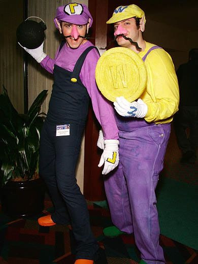 Best ideas about Wario Costume DIY . Save or Pin Wario & Waluigi Waluigi Costume Pinterest Now.