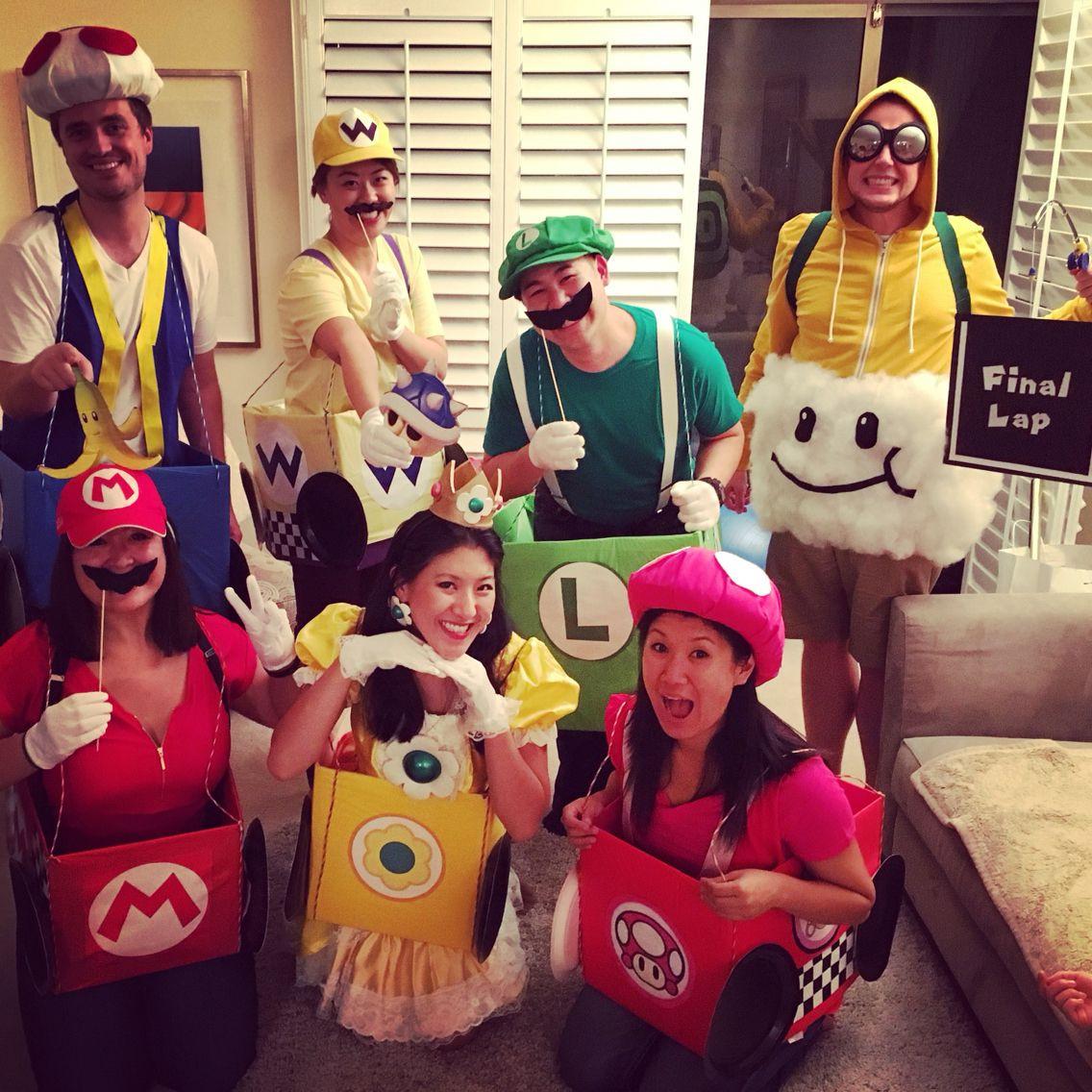 Best ideas about Wario Costume DIY . Save or Pin Group costume idea Mario Kart Luigi Mario Princess Now.