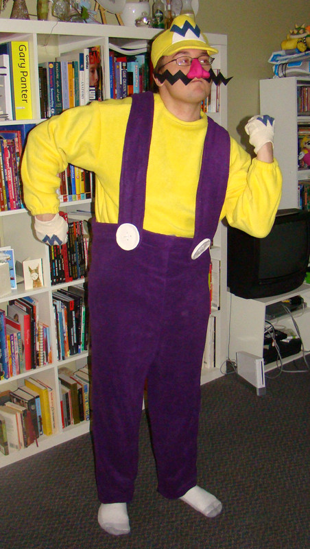 Best ideas about Wario Costume DIY . Save or Pin Wario Costume for Hubby CLOTHING Now.