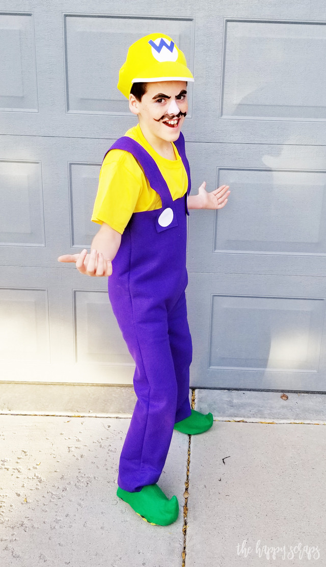 Best ideas about Wario Costume DIY . Save or Pin DIY Super Mario Brothers Costumes The Happy Scraps Now.