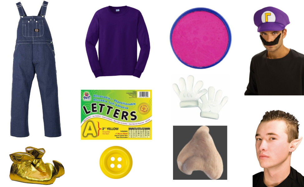 Best ideas about Wario Costume DIY . Save or Pin Waluigi Costume Now.