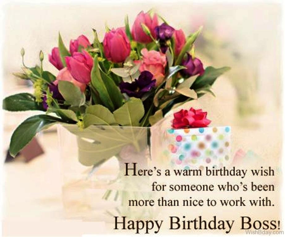 Best ideas about Warmest Birthday Wishes . Save or Pin 64 Birthday Wishes With Bouquet Now.
