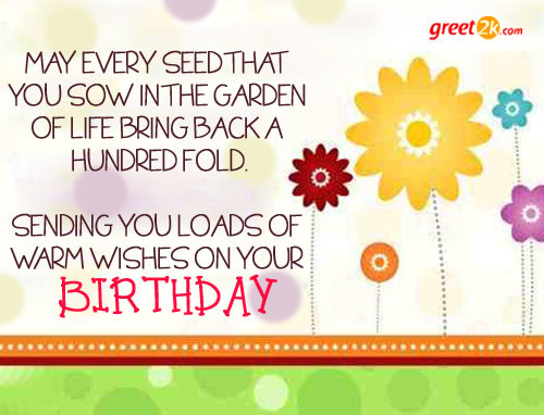 Best ideas about Warmest Birthday Wishes . Save or Pin Warm Greeting Quotes QuotesGram Now.