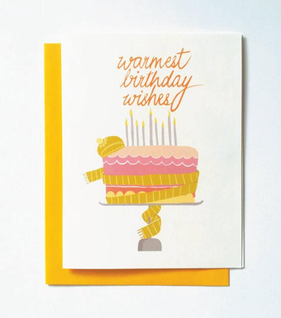 Best ideas about Warmest Birthday Wishes . Save or Pin warm birthday wishes cake card humorous by GreenBeanThings Now.