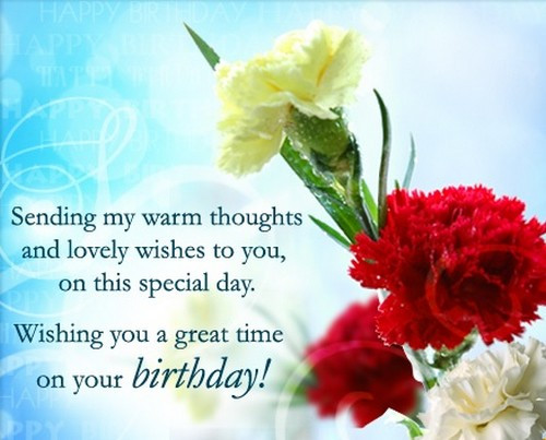 Best ideas about Warmest Birthday Wishes . Save or Pin 50 Warm Birthday Wishes and Messages Now.
