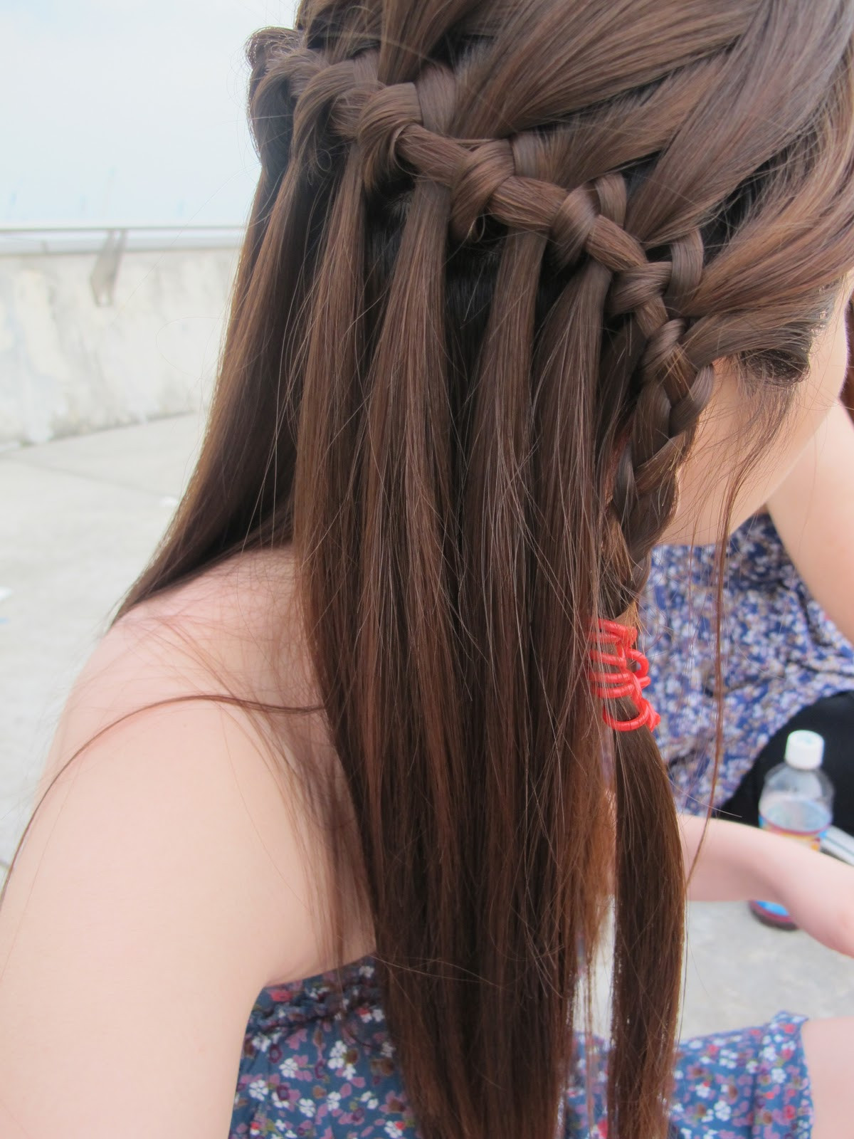 Best ideas about Waterfall Braid Hairstyles . Save or Pin Hair and Beyond Waterfall Braid Now.