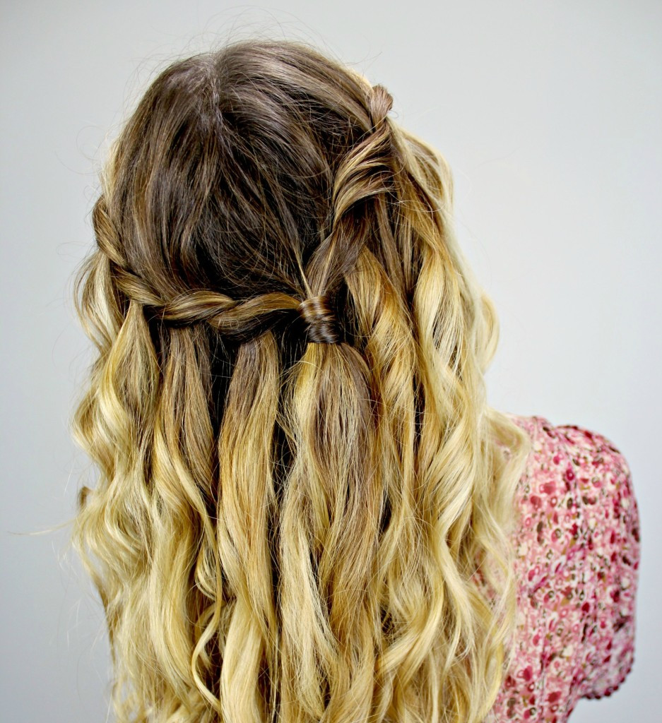 Best ideas about Waterfall Braid Hairstyles . Save or Pin Waterfall braid hair styles Now.