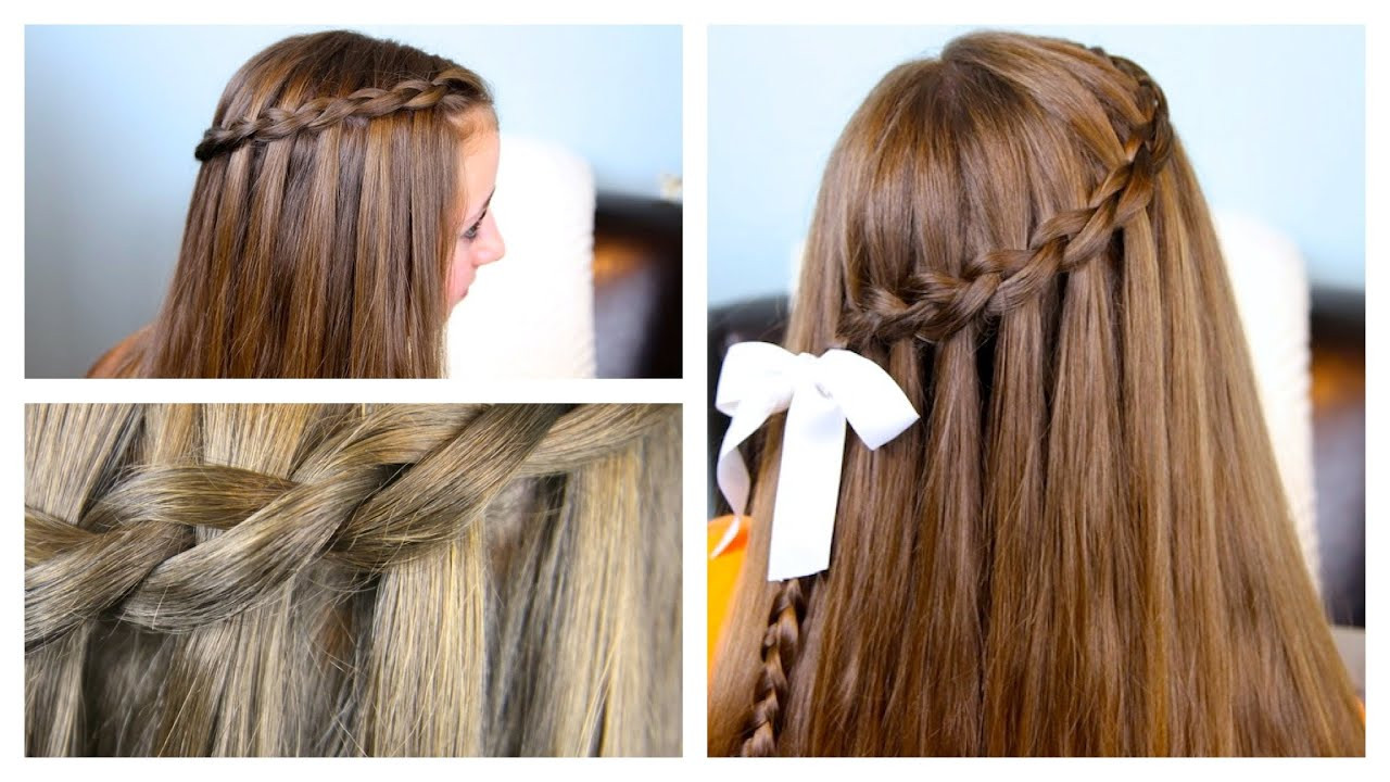 Best ideas about Waterfall Braid Hairstyles . Save or Pin The Dutch Waterfall Braid Now.