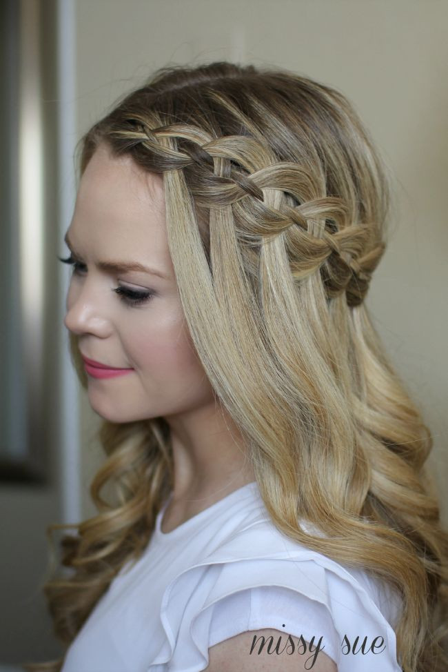 Best ideas about Waterfall Braid Hairstyles . Save or Pin 1000 ideas about Waterfall Braids on Pinterest Now.