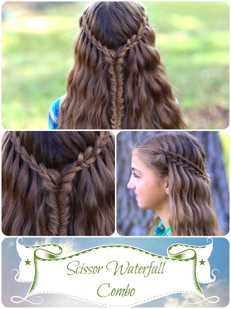 Best ideas about Waterfall Braid Hairstyles . Save or Pin Scissor Waterfall bo Latest Hairstyles Now.