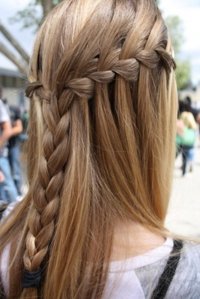 Best ideas about Waterfall Braid Hairstyles . Save or Pin Waterfall Braid Hairstyles Weekly Now.