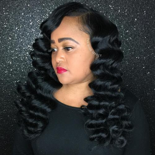 Best ideas about Wave Hairstyle For Black Hair . Save or Pin 13 Finger Wave Hairstyles You Will Want to Copy Now.