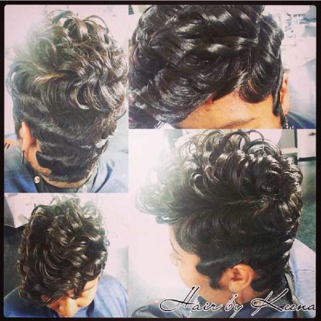 Best ideas about Wave Hairstyle For Black Hair . Save or Pin finger waves on short african american hair Google Now.