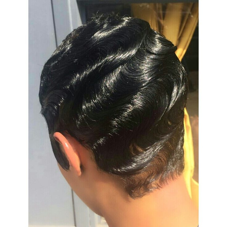 Best ideas about Wave Hairstyle For Black Hair . Save or Pin Finger waves Hair cuts Pinterest Now.