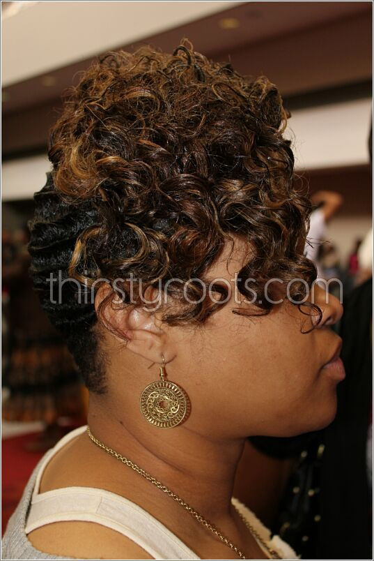 Best ideas about Wave Hairstyle For Black Hair . Save or Pin black hair finger waves hairstyles hair ideas Now.