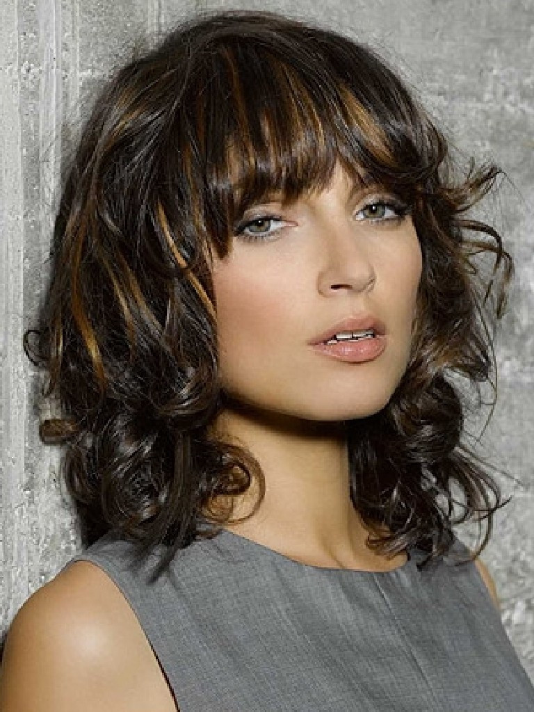 Best ideas about Wavy Medium Hairstyle . Save or Pin Image Now.
