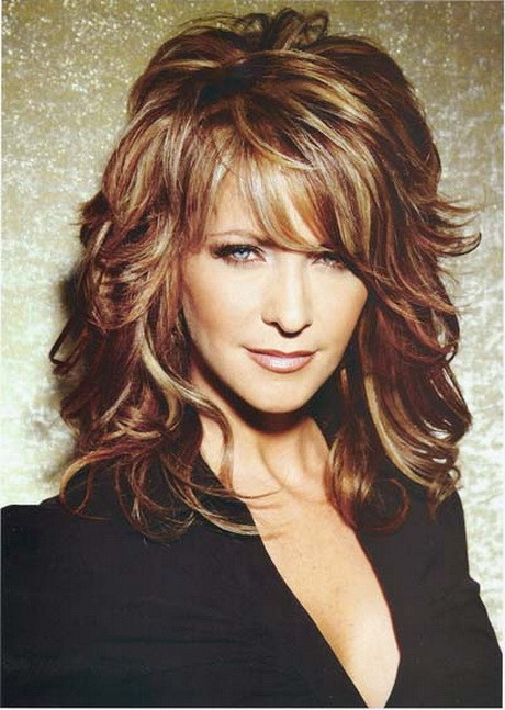 Best ideas about Wavy Medium Hairstyle . Save or Pin Medium length hairstyles thick wavy hair Now.