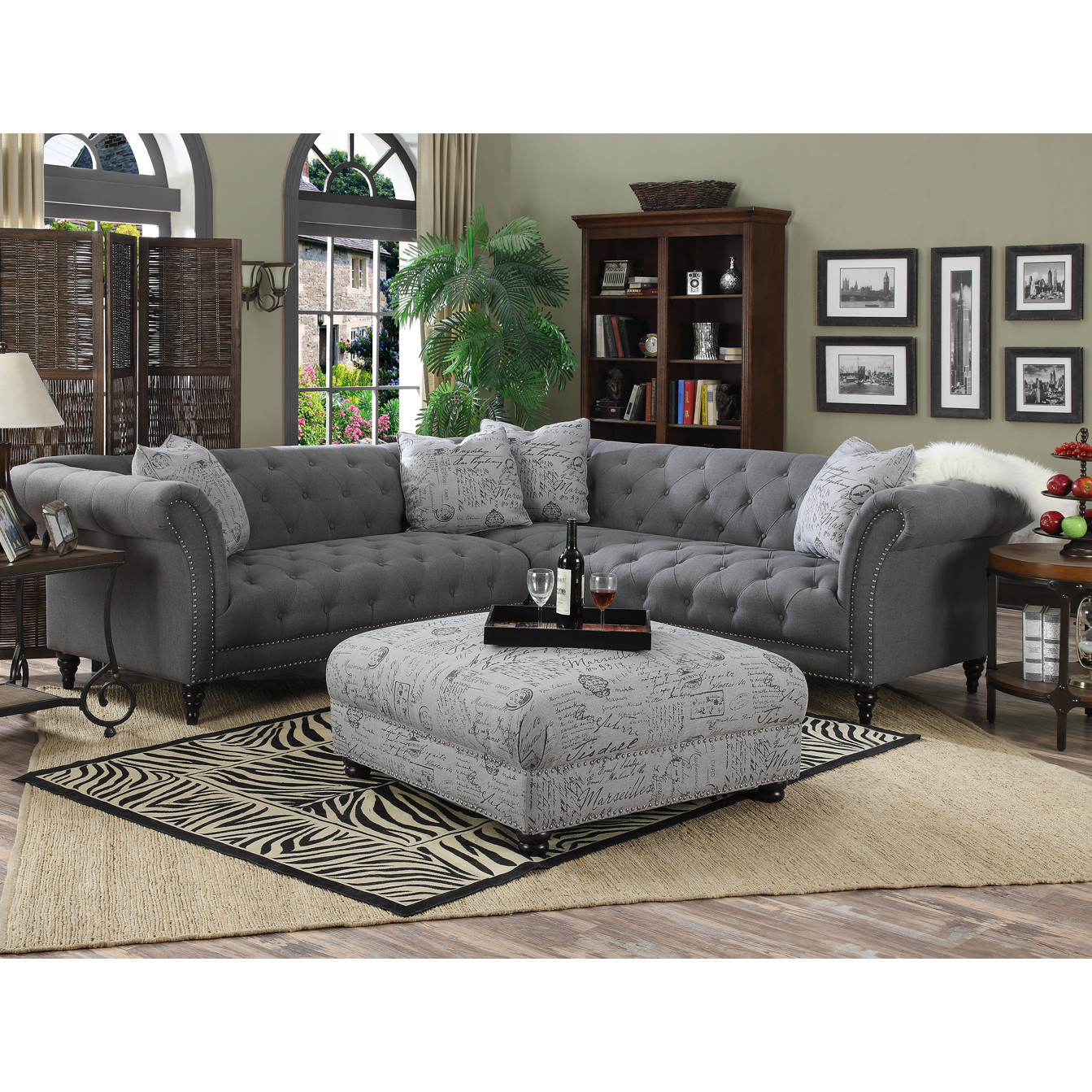 Best ideas about Wayfair Sectional Sofa . Save or Pin Lark Manor Awa Turenne Sectional & Reviews Now.