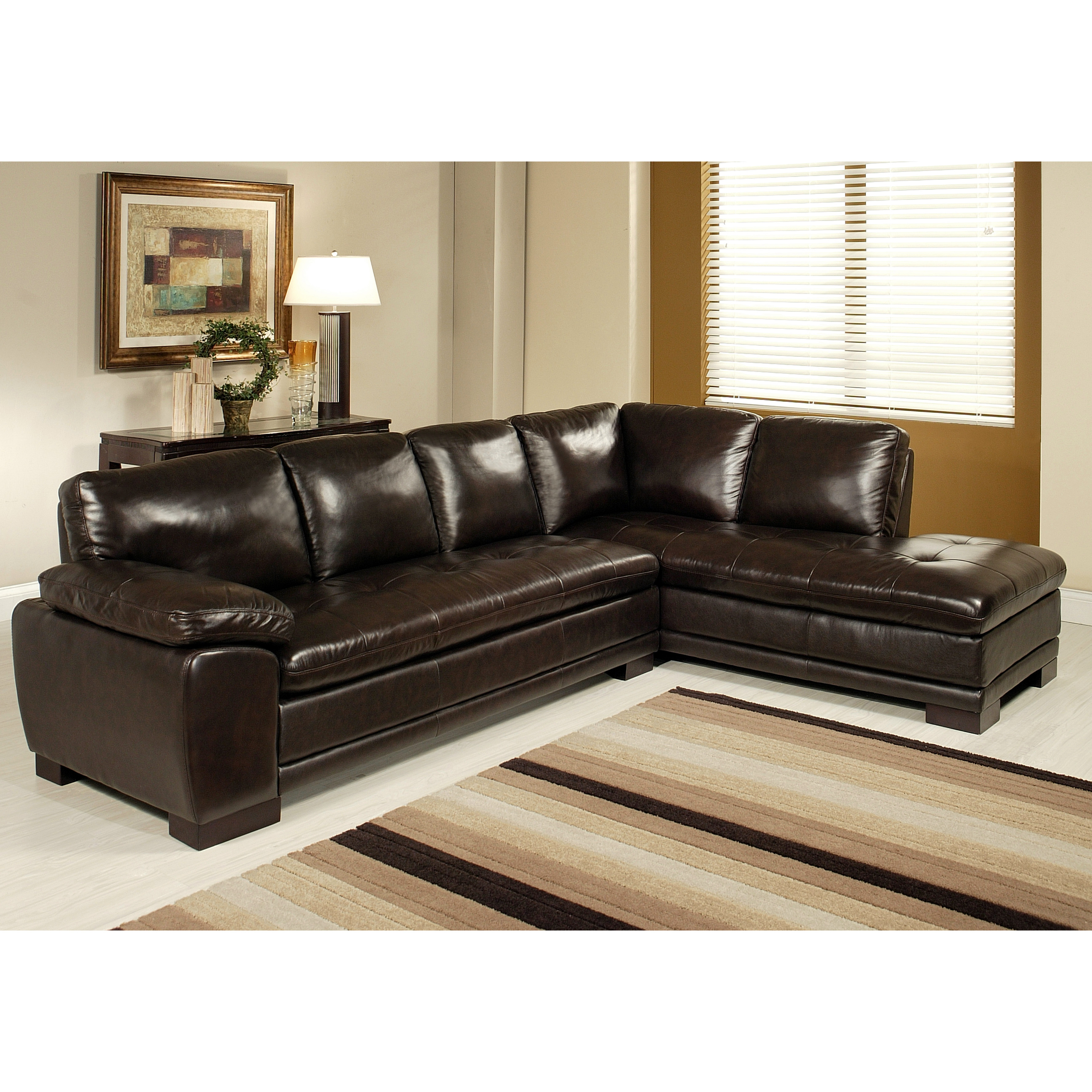 Best ideas about Wayfair Sectional Sofa . Save or Pin Abbyson Living Tivoli Sectional & Reviews Now.