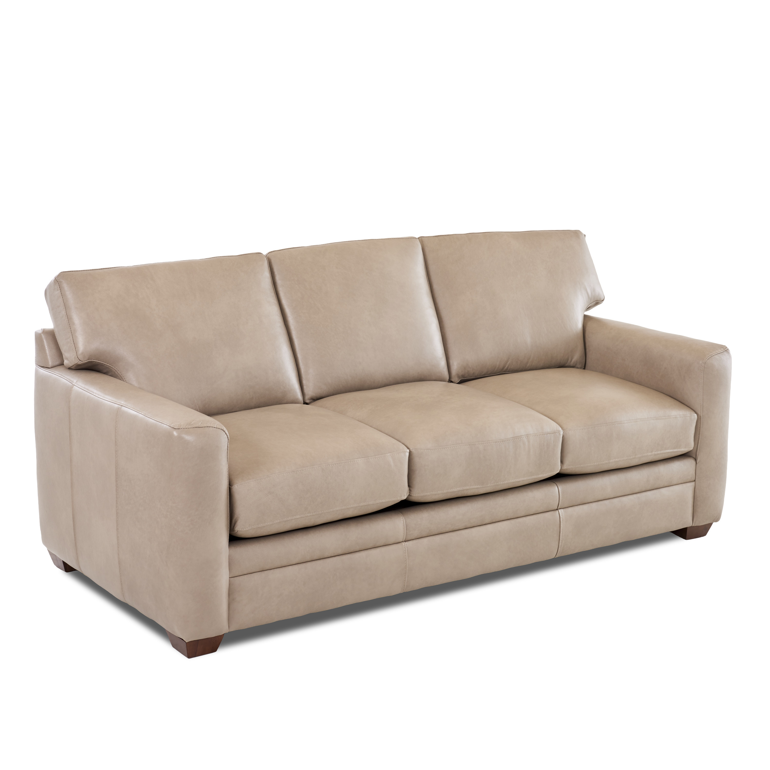Best ideas about Wayfair Sectional Sofa . Save or Pin Wayfair Custom Upholstery Carleton Leather Sofa & Reviews Now.