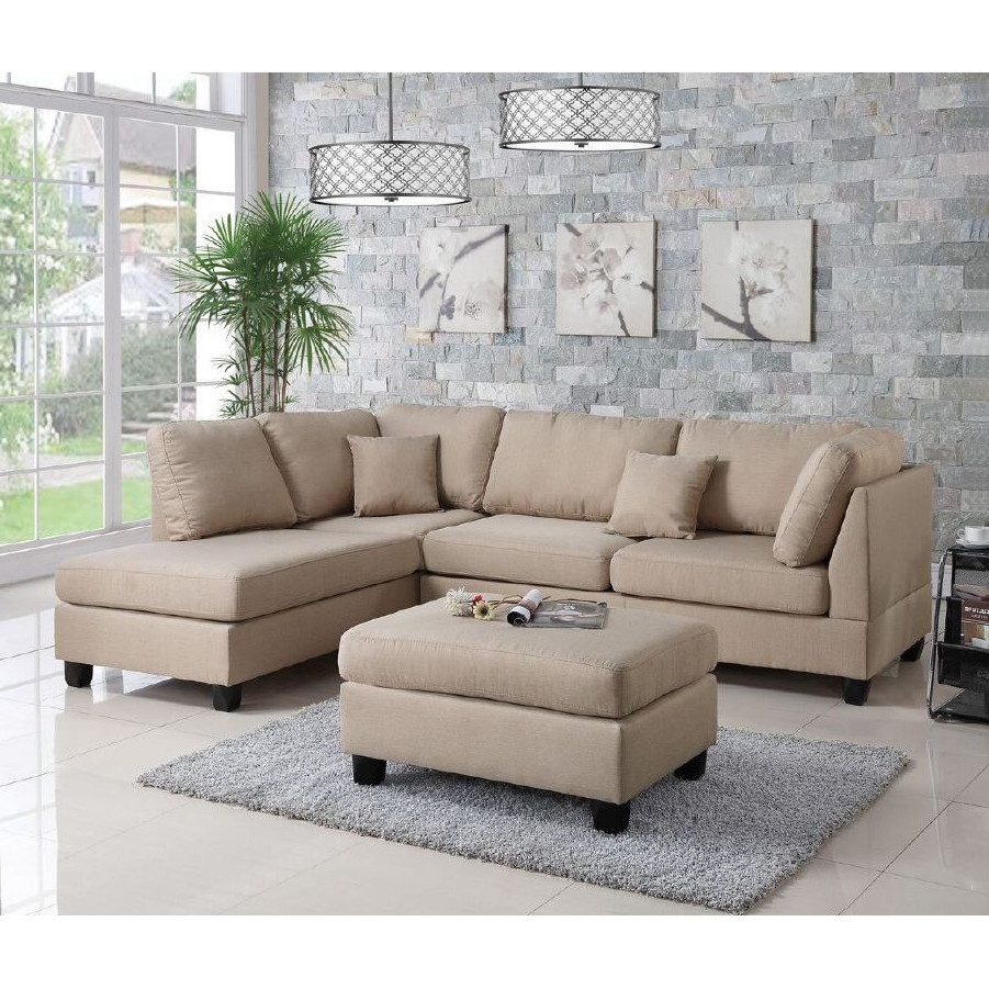 Best ideas about Wayfair Sectional Sofa . Save or Pin Infini Furnishings Reversible Chaise Sectional & Reviews Now.