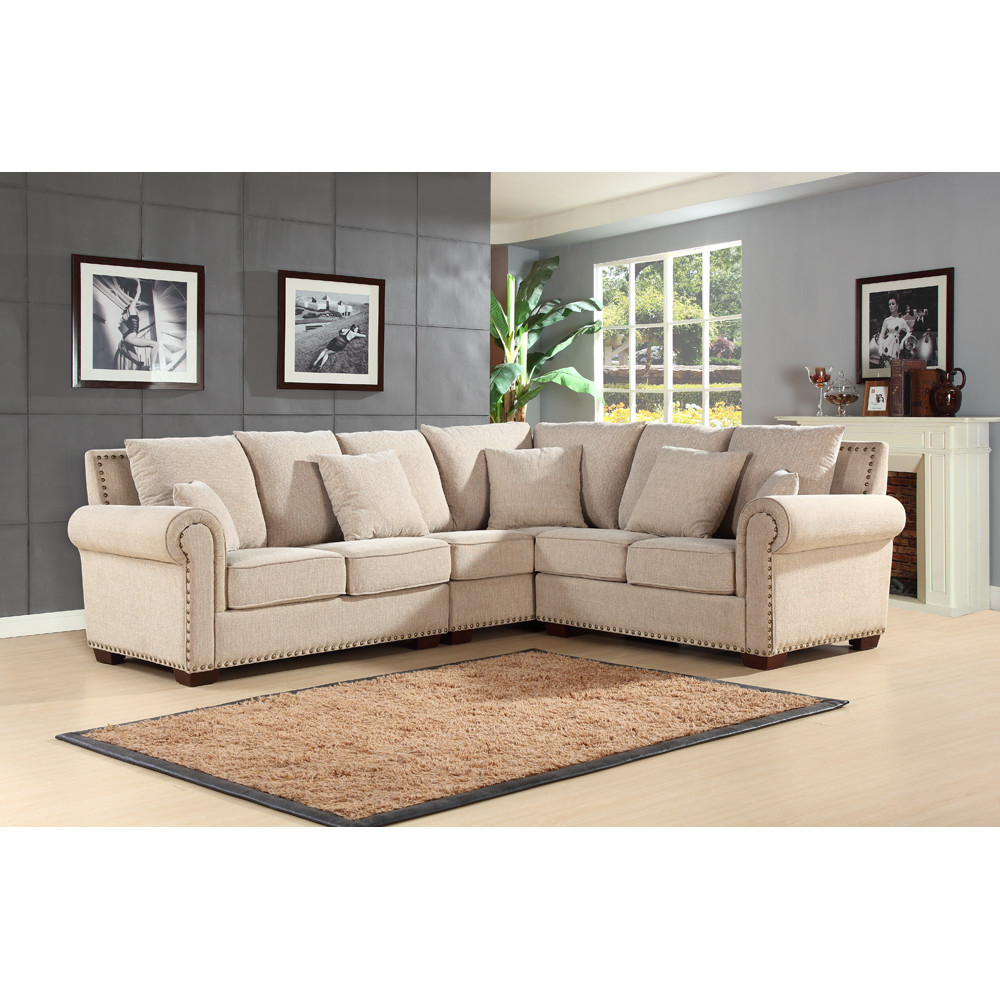 Best ideas about Wayfair Sectional Sofa . Save or Pin Abbyson Living Mona Sectional & Reviews Now.