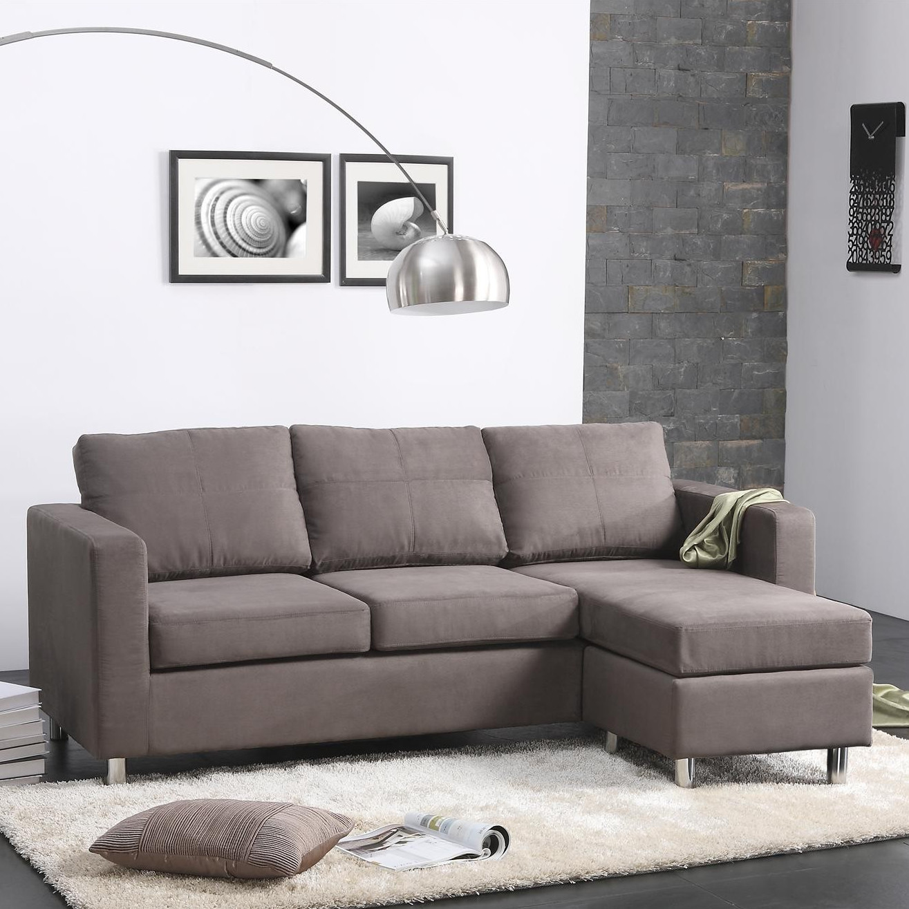 Best ideas about Wayfair Sectional Sofa . Save or Pin Dorel Living Small Spaces Right Hand Facing Sectional Now.