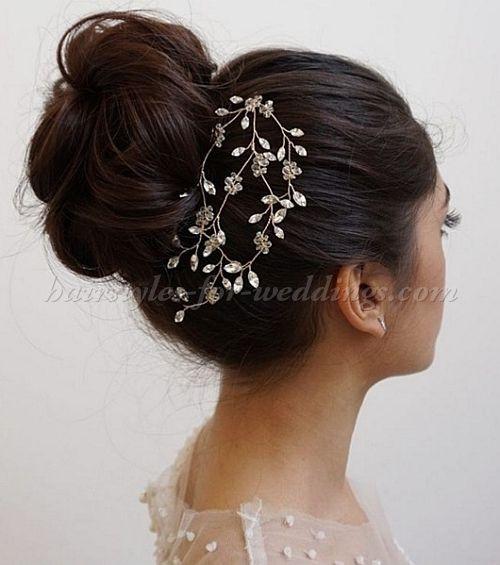 Best ideas about Wedding Bun Hairstyles . Save or Pin Best 25 High bun wedding ideas on Pinterest Now.