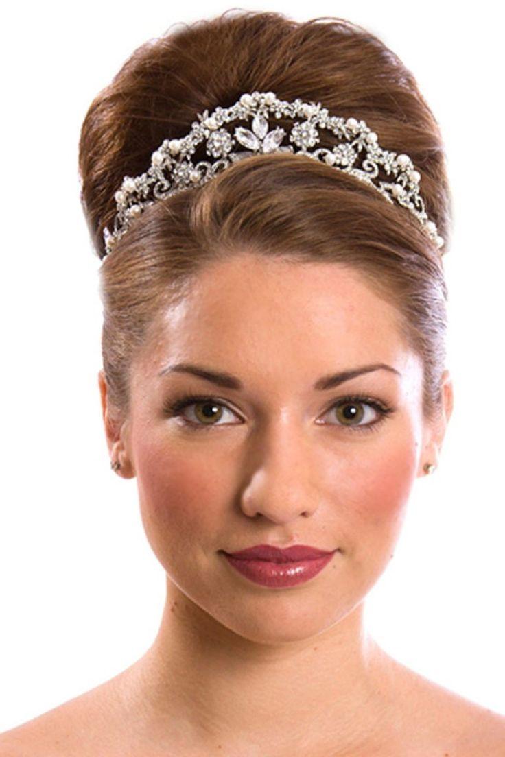 Best ideas about Wedding Bun Hairstyles . Save or Pin 1000 ideas about Wedding Bun Hairstyles on Pinterest Now.