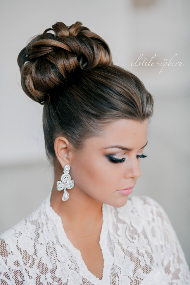 Best ideas about Wedding Bun Hairstyles . Save or Pin wedding hairstyles Now.