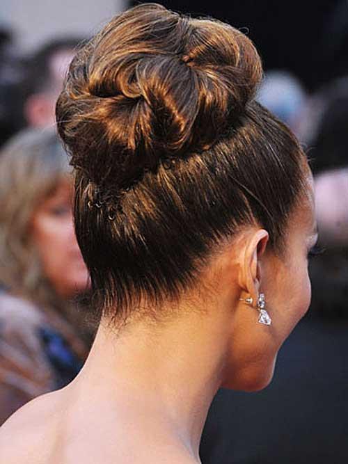Best ideas about Wedding Bun Hairstyles . Save or Pin 25 Good Bun Wedding Hairstyles Now.
