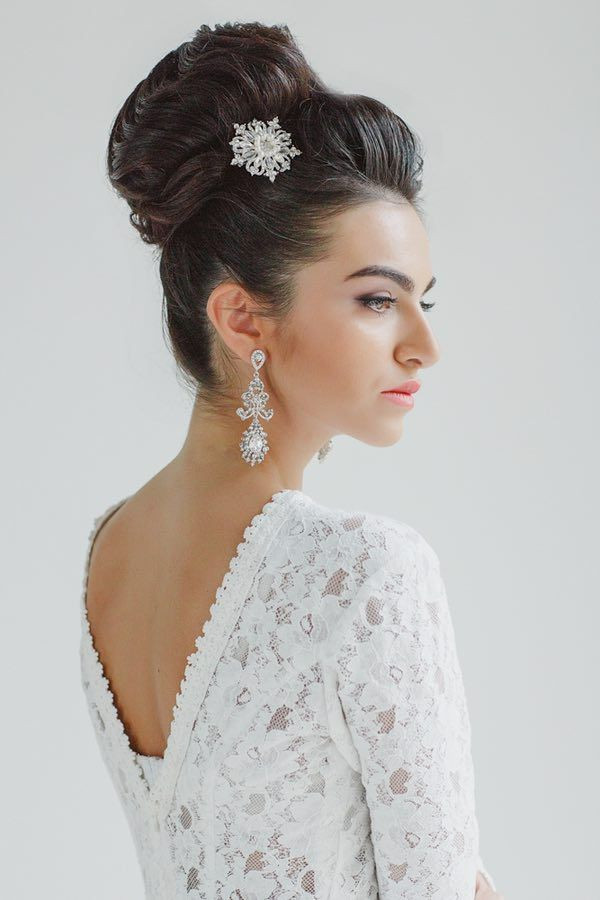 Best ideas about Wedding Bun Hairstyles . Save or Pin 30 Top Knot Bun Wedding Hairstyles That Will Inspire with Now.