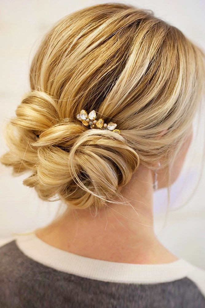 Best ideas about Wedding Bun Hairstyles . Save or Pin Best 25 Wedding low buns ideas that you will like on Now.
