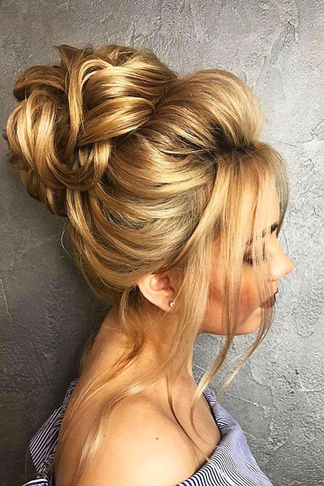 Best ideas about Wedding Bun Hairstyles . Save or Pin Pin by Wedding tips and ideas on Wedding Hairstyles Now.