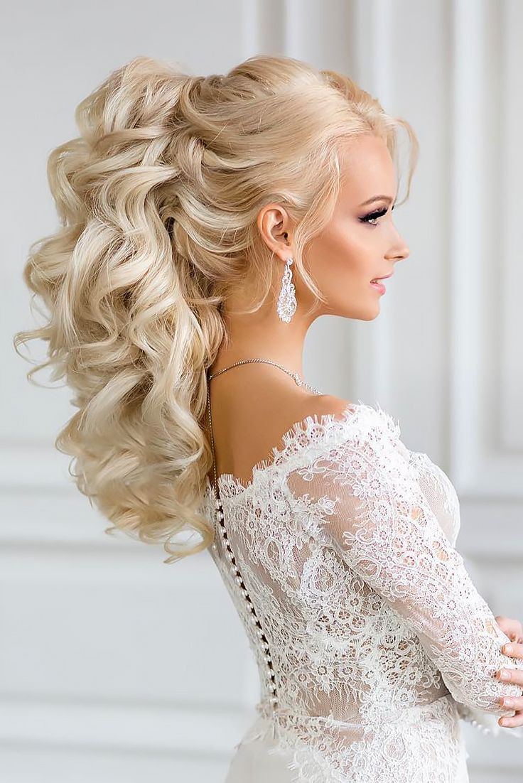 Best ideas about Wedding Curly Hairstyles . Save or Pin Best 20 Curly wedding hairstyles ideas on Pinterest Now.