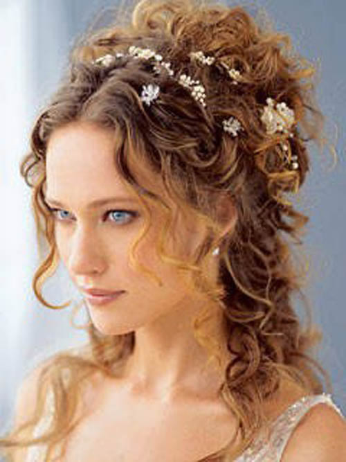 Best ideas about Wedding Curly Hairstyles . Save or Pin Curly Wedding Hairstyle 2013 hairstyles hairstyles 2013 Now.