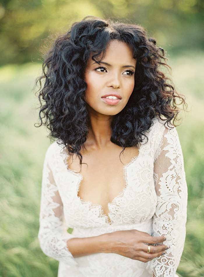 Best ideas about Wedding Curly Hairstyles . Save or Pin 33 Modern Curly Hairstyles That Will Slay on Your Wedding Day Now.