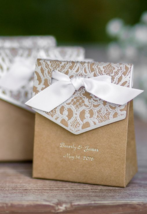 Best ideas about Wedding Gift Boxes Ideas . Save or Pin Best 25 Wedding favor boxes ideas on Pinterest Now.