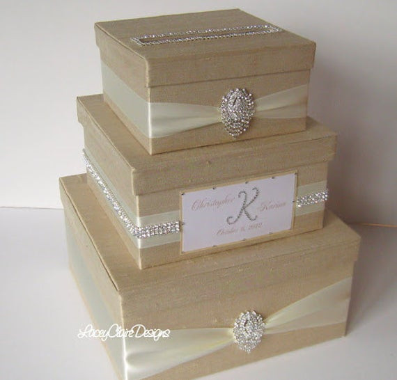 Best ideas about Wedding Gift Boxes Ideas . Save or Pin Wedding Card Box Bling Card Box Rhinestone Money Holder Now.
