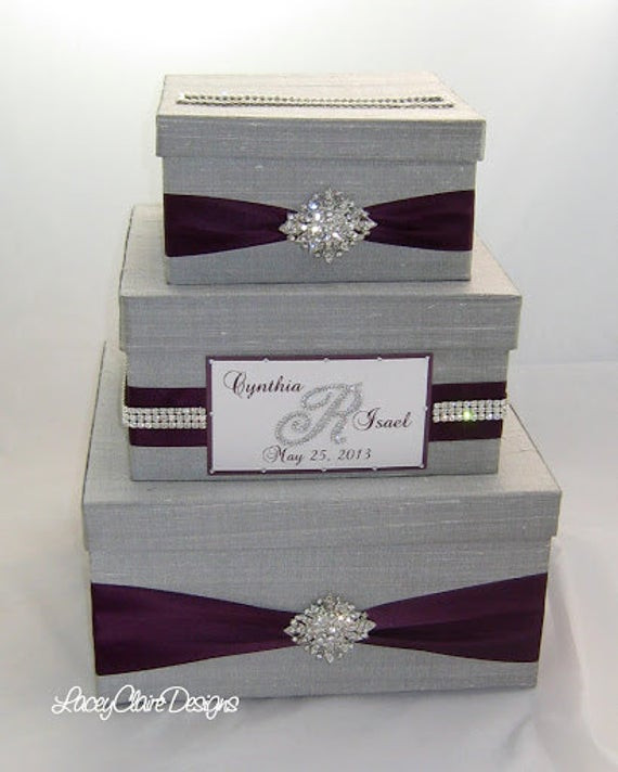 Best ideas about Wedding Gift Boxes Ideas . Save or Pin Wedding Gift Box Bling Card Box Rhinestone Money Holder Now.