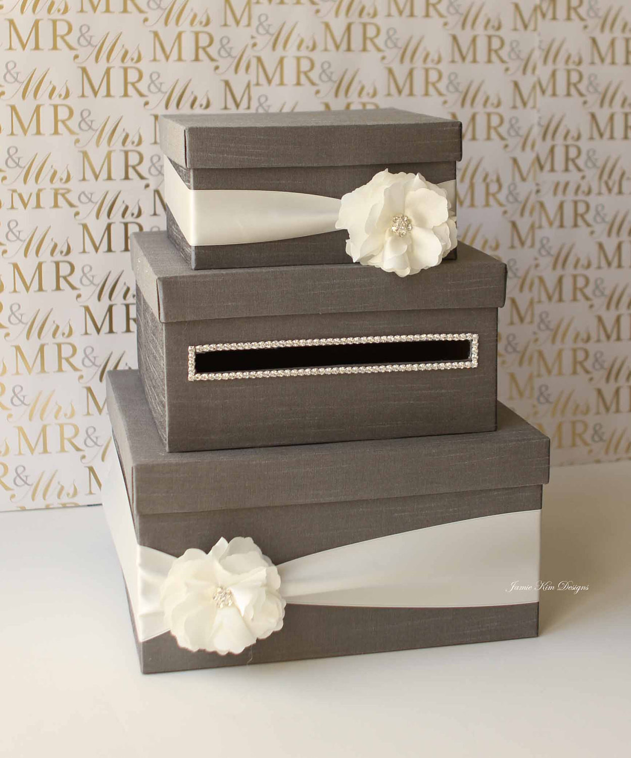 Best ideas about Wedding Gift Card Ideas . Save or Pin Wedding Card Money Box Gift Card Holder Reserved Now.