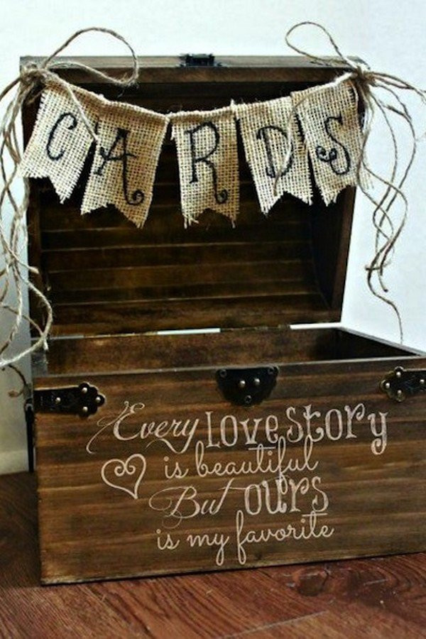 Best ideas about Wedding Gift Card Ideas . Save or Pin 15 Creative Wedding Card Box Ideas to Impress Your Guests Now.