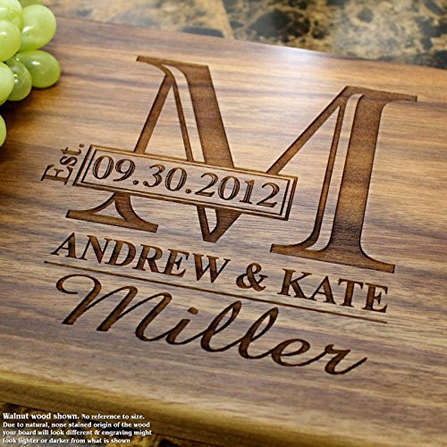 Best ideas about Wedding Gift Engraving Ideas . Save or Pin Best Wedding Gifts Ideas 69 Personalized Unique and Now.