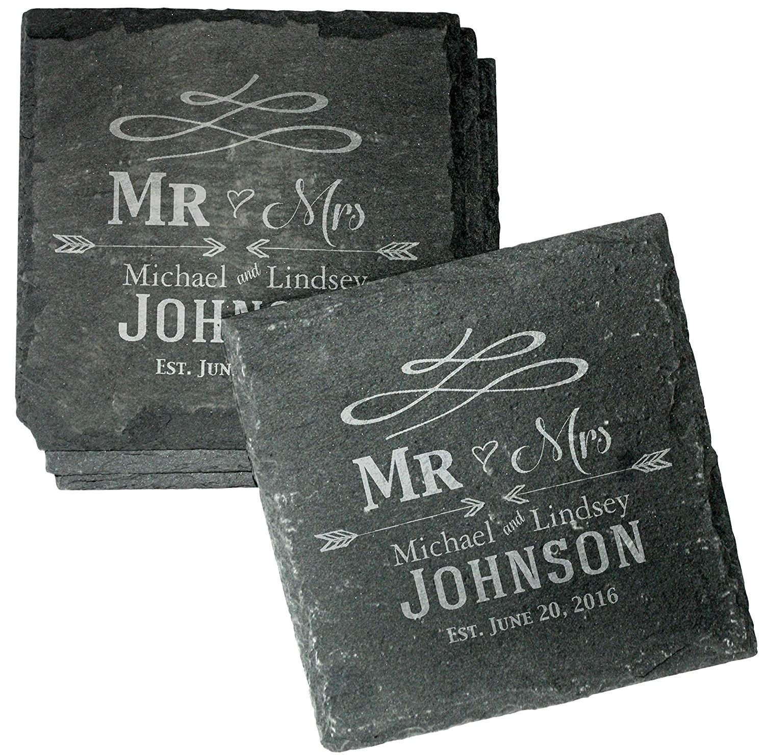 Best ideas about Wedding Gift Engraving Ideas . Save or Pin Top 20 Best Personalized Wedding Gifts Now.