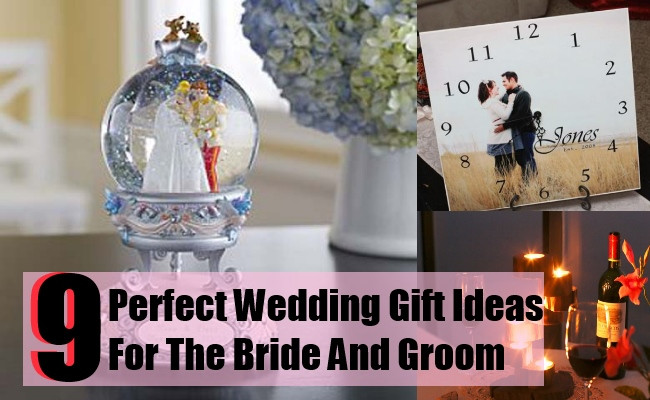 Best ideas about Wedding Gift Ideas For Bride . Save or Pin Perfect Wedding Gift Ideas For The Bride And Groom Now.