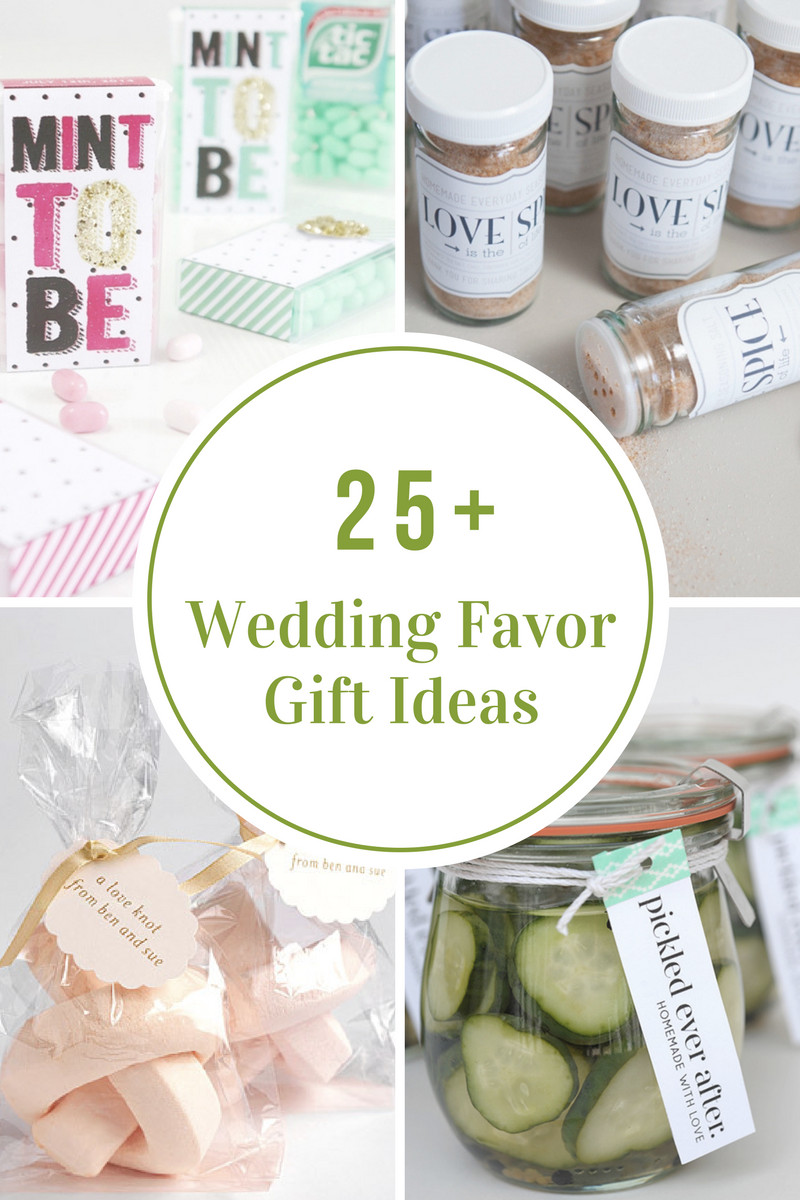 Best ideas about Wedding Gift Ideas For Bride . Save or Pin Wedding Favor Gift Ideas The Idea Room Now.