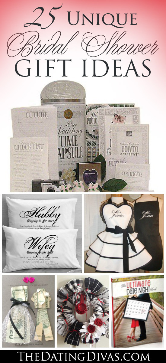 Best ideas about Wedding Gift Ideas For Bride . Save or Pin 60 BEST Creative Bridal Shower Gift Ideas Now.