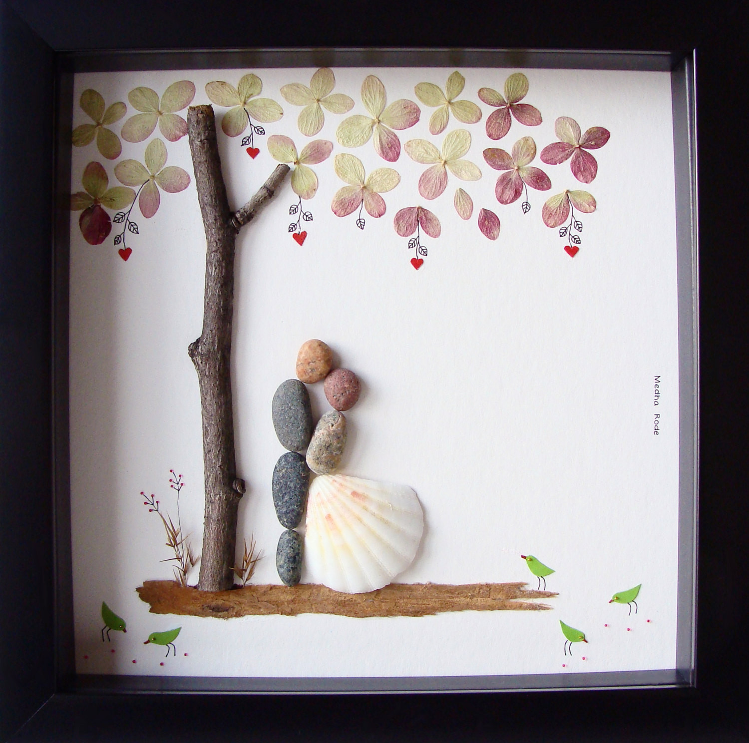 Best ideas about Wedding Gift Ideas For Bride . Save or Pin Unique Wedding Gift For Couple Wedding Pebble Art by MedhaRode Now.