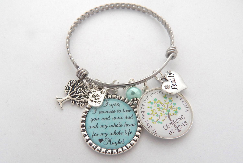 Best ideas about Wedding Gift Ideas For Daughter . Save or Pin STEP DAUGHTER Wedding Gift Step Daughter Bracelet Brides Now.
